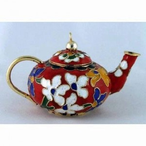 teapot red